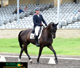 It was a great test for Tim Boland and Napoleon in the CCN4 Star dressage phase of the Sydney Eventing Summer Classic.