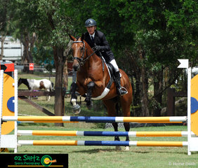 Karl Northall and Rampaging Roger were off to a strong start during their EvA80A show jumping round with only carrying one jumping fault heading into the final phase of the competition, the cross country at the Sydney Eventing Summer Classic.
