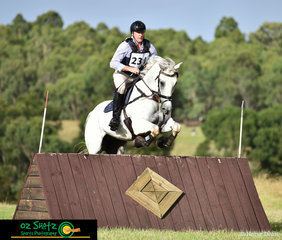 Former Queensland based rider, Anthony Cruickshank and Willy Do had a beautiful clear round out on cross country on the Sunday at Sydney Eventing Summer Classic.
