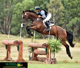 Winning overall in the CCN4 Star at the Sydney Eventing Summer Classic was Olympian Shane Rose on his horse Virgil at the Sydney Eventing Summer Classic.