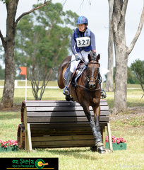 Consistant performers, Thea Horsley and Kelecyn Super Natural held onto their dressage placing after having a clear round out on cross country on Sunday in the CCN4 Star.