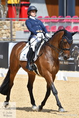 Para Olympian and WEG Para Australian dressage representative, Emma Booth from Victoria rode her imported Danish, 'Mogelvangs Zidane' to take 14 th place in the Otto Australia Open Medium 4b.