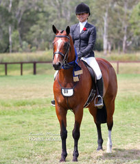 "Champion Owner/Rider Small Hunter Hack ""EBL Rich List"" and Tahli Hendler."