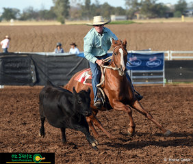Carving it up in the Maiden Series was Stewart Boyce on board Fossil Downs Melody to score an 80 in todays 2nd qualifier.
