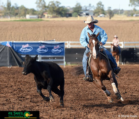 With an extremely impressive run, Warwick Lawrence and Hunter View Royal Chic managed to come away with the win in the Maiden Series Campdraft at the 2019 Australian Stock Horse Nationals.