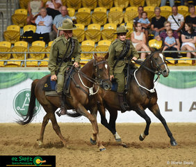 Day 3 of the 2019 Australian Stock Horse National Show saw a display dedicated to the Light Horse at the Offical Opening Ceremony.