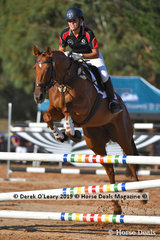 """Brooke Cairns rode """"Rastar Matisse"""" in the B Grade Championship representing Southern Metro Zone"""
