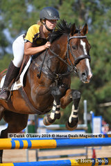 "Rachel Hare rode ""Beswick Boy"" placed 8th in the A Grade Championship representing Northern Zone"