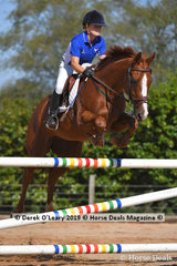 """Carly Heislers rode """"Ma Di Tau"""" placed 3rd in the A Grade Championship representing West Gippsland Zone"""