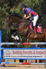 "Rose Stephen riding ""Triple X"" was the Winner in the A Grade Championship representing Northern Metro Zone"