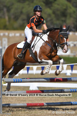 """Sammi Browell rode """"Top Deck"""" placing 6th in the 2 phase C Grade Championship"""