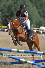 """Morgan Lord rode """"Havenleigh Park Thor"""" in the D Grade Championship"""