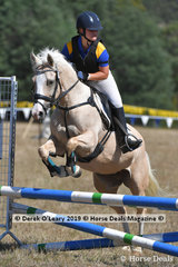 "Emily Gerdes rode ""Legally Blonde"" in the D Grade Championships"