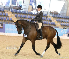 """Working out in the Large Hunter Hack of the Year event is """"Swish"""" and Grace Tyson."""