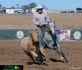 So easy you could do it with your eyes closed - Mathew Holz on board Paris Reims had a brilliant 3 days in the Maiden Campdraft Series and finished on a score of 277 to win the Final today.