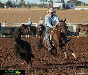 After a tie for 1st place Warwick Lawrence on board Globella Acres Jewel came back to fight for the top spot in the Open Campdraft Final.