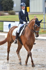 Jazi French rode her well performed Florinzz to take out the Mulawa Arabian Stud Medium Championship.