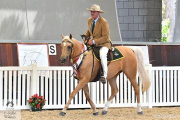 Inverdale's nomination, Jindalla Park All That Glitters was declared Champion Arabian/Arabian Derivative/API Working Stock Horse Champion.