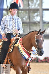 Kody Dertell rode Meriell and Bruce Bilney's, Dream Fever to take out the Western Pleasure Championship.
