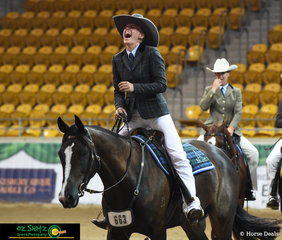 That moment when you and your horse win the Supreme Hack - Georgia Hope and Power Loaded were in sync with eachother and performed a flawless workout to take the Supreme Hack Title at the 2019 Australian Stock Horse National Show.