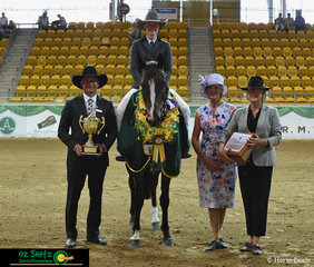 With a faultless workout in the Supreme Hack of the Show, Georgia Hope and Power Loaded were deemed the winners by Judges, Adam Wellington, Jennifer Emanuel and Toni Bull