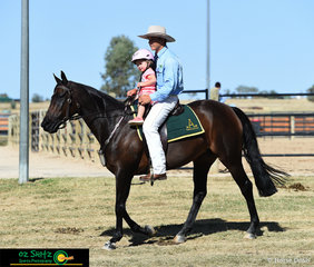 An aspiring youngster hitches a ride on Coolidowns Phantasy with Nathan Presdee between classes