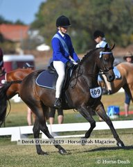 Shae Kristiansen rode Ellanwang Toy Story in the Rider 13 & U15 Rider representing Neanger Park