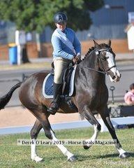 Jack Christian rode One Direction representing Hurstbridge in the 11 to U13 Rider Class