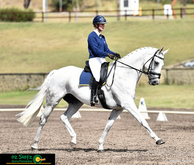Showing great elevation and extension, Zoe Hutchinson rode War Hawk in the One Star Eventing at the 2019 NSW Interschool State Championships.