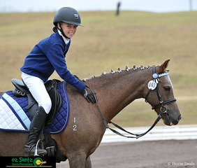 Giving Charlotte Wilson a great ride in the EvA60 dressage phase was A Smidge of Attitude at the 2019 NSW Interschool State Championships.