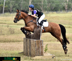 Making light work of the One Star cross country course was a combination made up of, Willa Mitchell and Taurus.