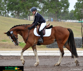 Competing in the EvA60 at the 2019 NSW Interschool State Championships was a combination made up of Ruby Holgate and Findon.