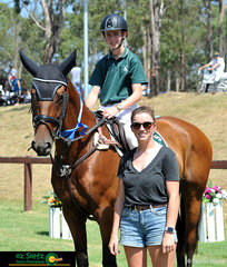 Taking out the win in the 110cm Secondary A2 Show Jumping was Jack Haynes and his new equine partner of three months, She's A Diva at the NSW Interschool State Championships.