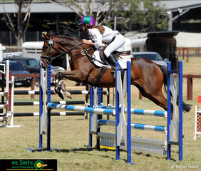 The two phase course was no trouble for Matilda Walker and Clover Ash Distinction as they cleared all fences in the Secondary 90cm competition.