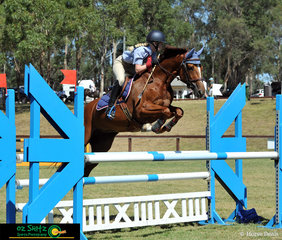Commencing their round of the Secondary 1.10m show jumping was Robin Henry and Radnore Sunrise on the final day of the NSW Interschool State Championships.