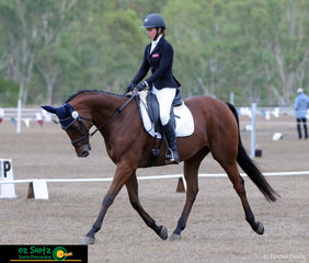In the hotly contested Two Star competition at the 2019 Warwick Horse Trials, Amilia Schooley and Grande Exito make a great combination.