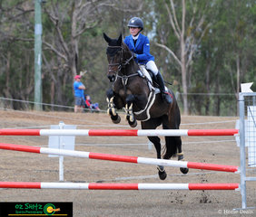 It was a clear round for Miss Florentine and Madison Searle in the Three Star show jumping phase of the eventing at the Warwick Horse Trials held at Morgan Park.