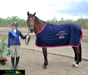It was a great weekend for Madison Simpson and Adloo Galina as they won the CCI Three Star class.