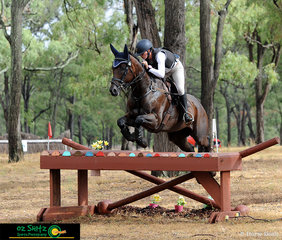 Flying around the CCN1 Star cross country was Amber Couper with the ride on Roi La Victoire.