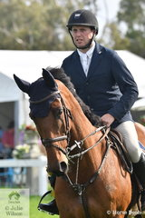 Sam Williams rode Commander NZPH to win the Rivenlee Current Stars class.