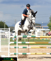 Ross Smith was keeping busy throughout the Warwick Show, Show Jumping program including having the reliable Carinya in the 1.35m - 1.40m class on the second day.