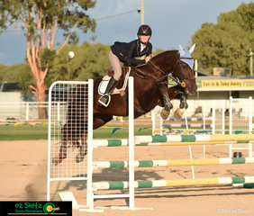 The 2019 Warwick Show had the privilege of hosting the first ever QLD Country Children Championship class, pictured is class winner, Emmy Ravenscroft and Austin Powers.
