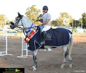Winners of the Queensland State Country Senior Championship 1.50m went to Matt Afford and the ever consistent Kaluna Salute
