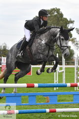Talented Australian professional rider, Emma Smith rode Sharon Slater's, 'Baloubell' by Balou du Rouet out of an Aspen mare to take fifth place in the Four Year Old Young Jumping Horse Championship.