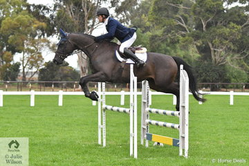 Back in Australia, Phil Lever rode Jamisan Hurley's, 'JMH Veritas' (Versace/Carbine) to claim the Four Year Old Young Jumping Horse Championship.