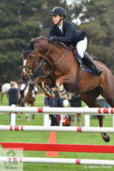 Up and coming young Victorian rider, Shimona Fraid rode her, Diamant de Semilly/Kannan mare, 'Dancing Queen HP' to tenth place in the Six Year Old Young Jumping Horse Championship.