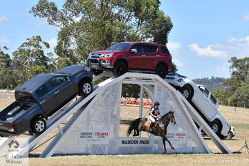 Sophie Doake and 'Heist' took 12th place  in division 3 of the Kentaur CNC* at the 2019  Australian Eventing Championship conducted at Wandin Park in the beautiful Victorian Yarra Valley.