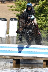 Stacey Briggs rode, 'Little Napoleon' to fourth place in the Heritage Holden Lilydale CCI2*.