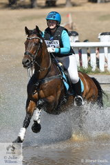 Alice Embry rode, 'Spanner Collusion' to fifth place in the the Heritage Holden Lilydale CCI2*.