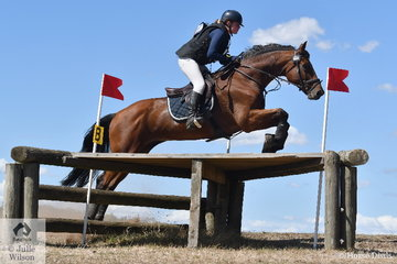 Jasmine Dillon rode, 'Vinchenzo' to take second place in Division 2 of the the Heritage Holden Lilydale CCI2*.